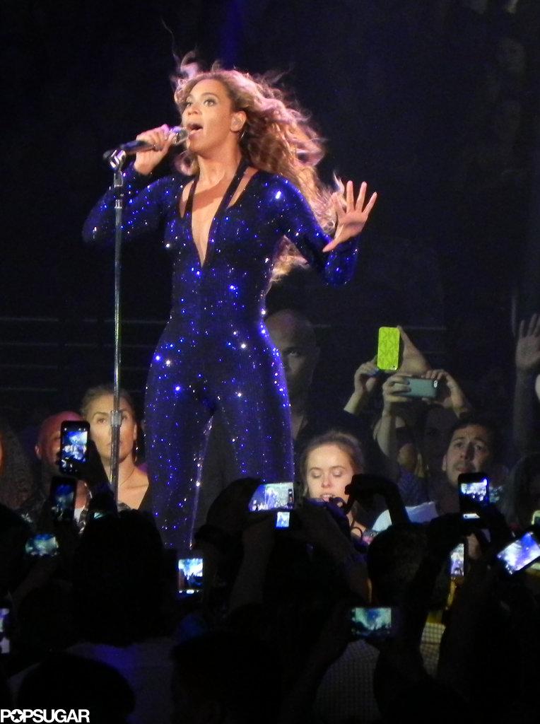 Beyoncé Knowles took the stage in LA.