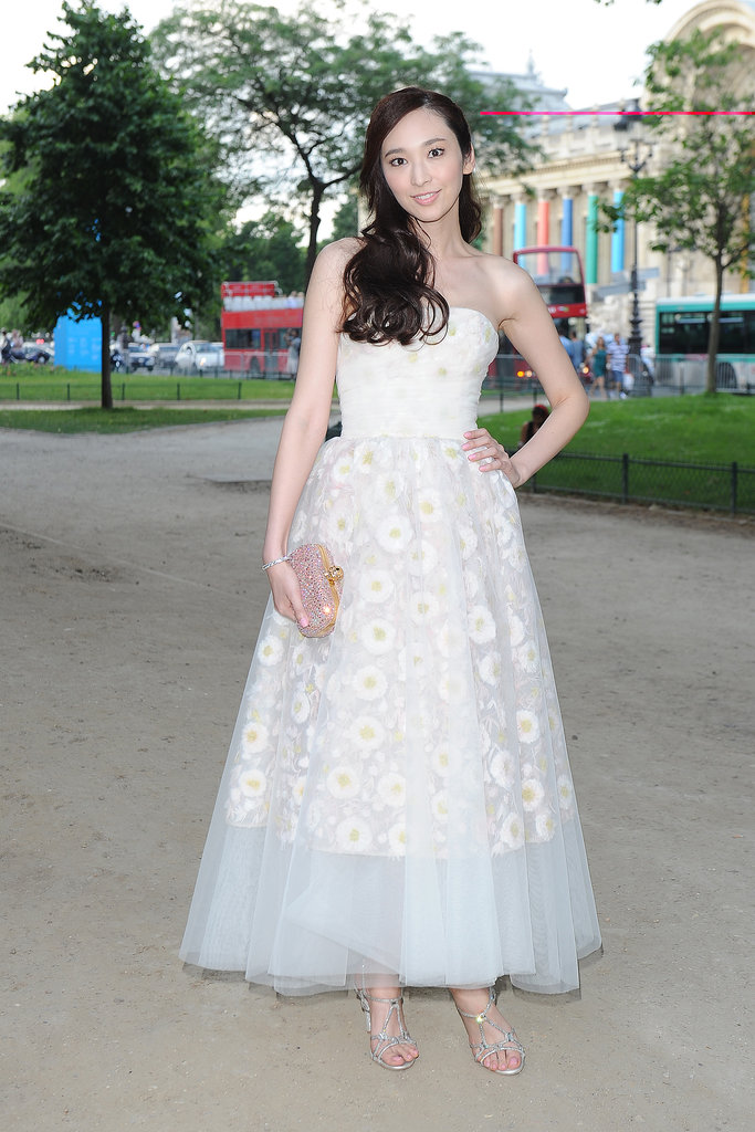 One of the few times a ballgown is appropriate for the day? Haute Couture Fashion Week.
