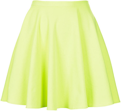 Fluro Mini Skater Skirt