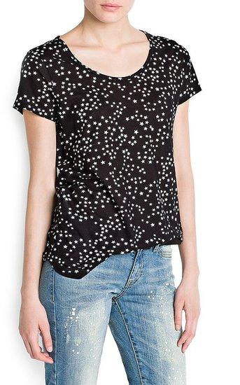 Stars Print T-Shirt