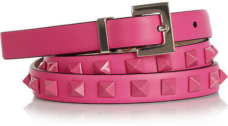 Valentino Pop Rockstud leather belt