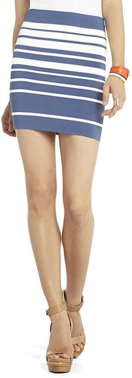 Simone Gradient Stripe Skirt