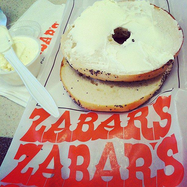 New York: Zabar's Bagels
