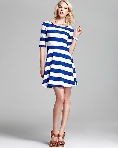 FRENCH CONNECTION Dress - Fun Stripe Jersey