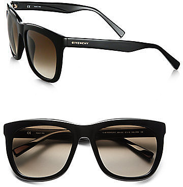 Givenchy Large Modified Square Resin Sunglasses