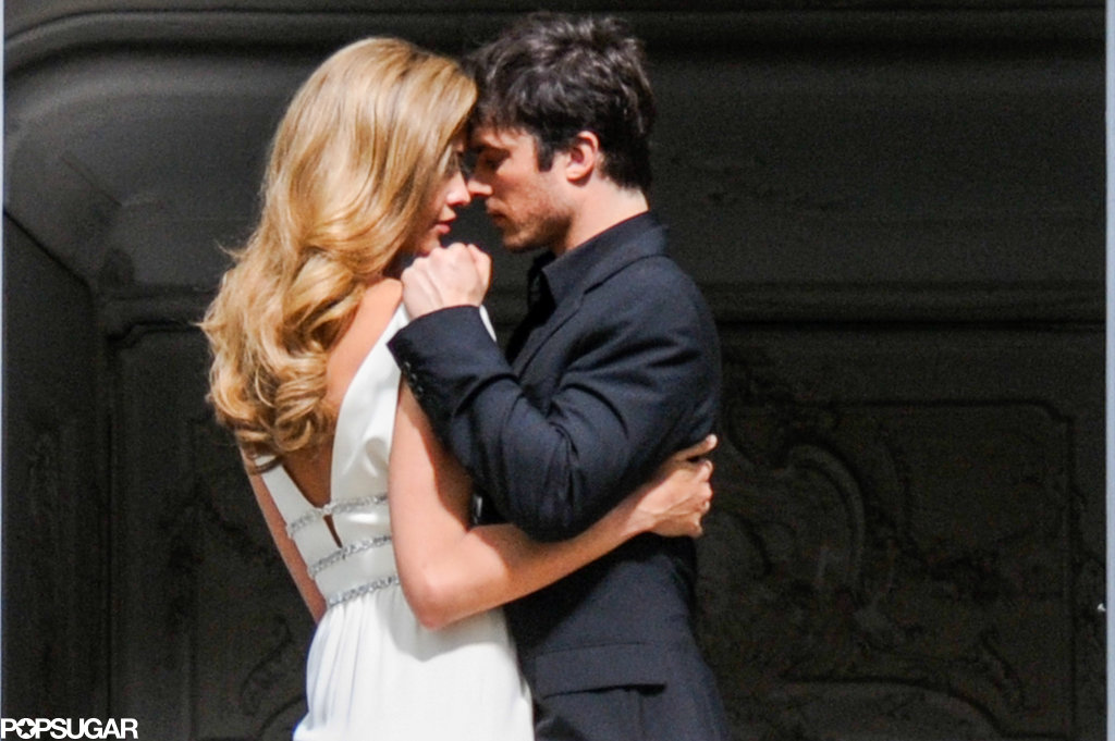 Ian Somerhalder got close to Ana Beatriz Barros.