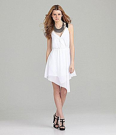 GB Chiffon Wrap Dress