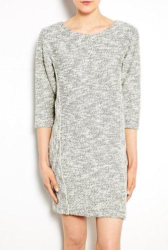 See by Chloé Two-tone Cotton Sweatshirt Dress