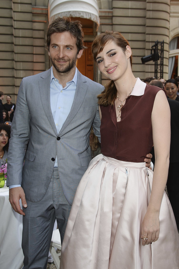 Bradley Cooper posed with Louise Bourgoin.