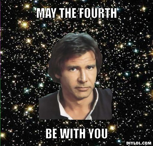 Sure, Star Wars day was in May, but this meme works for Fourth of July, too. Obviously.   Source: DIY LOL