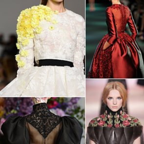 Paris Couture Fashion Week Detail Pictures | Fall 2013
