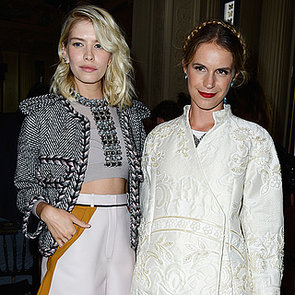 Models and Celebrities at Fashion Parties | July 1, 2013