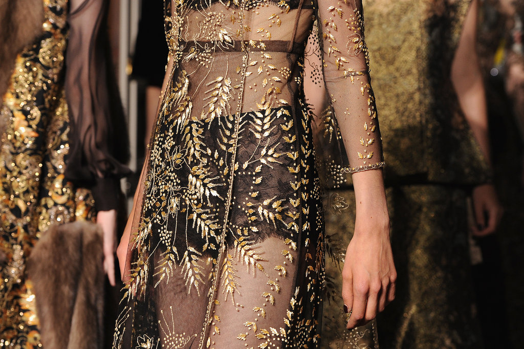 "Valentino defined ""sheer perfection"" on the Haute Couture runway."