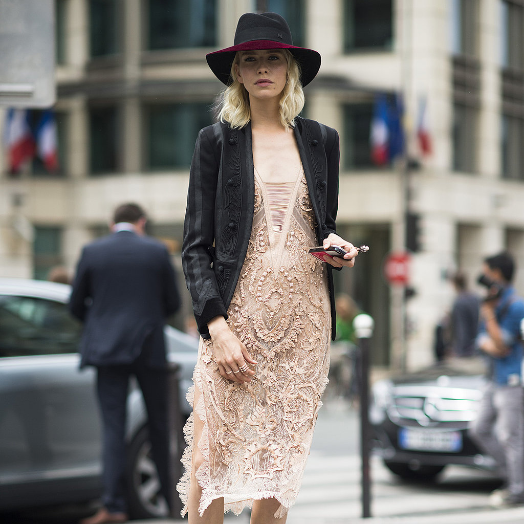 Street Style At Paris Haute Couture Fashion Week Fall 2013 Popsugar Fashion