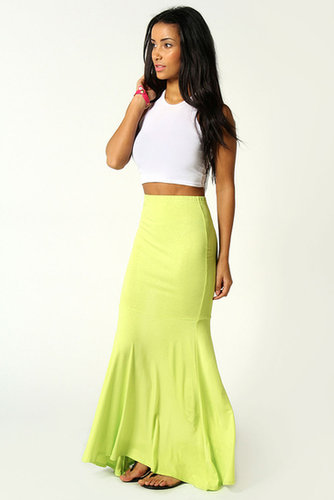 Anna Jersey Fishtail Maxi Skirt