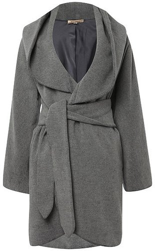 Mara Hoffman Hooded Wrap Coat