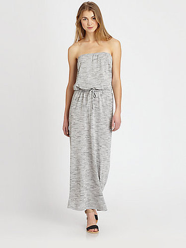 Soft Joie Cristabel Strapless Heathered Jersey Maxi Dress