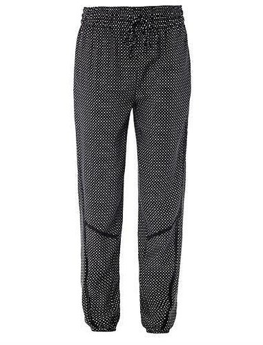 Rag & Bone Gina star-print silk trousers