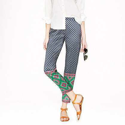 Collection foulard dot pant