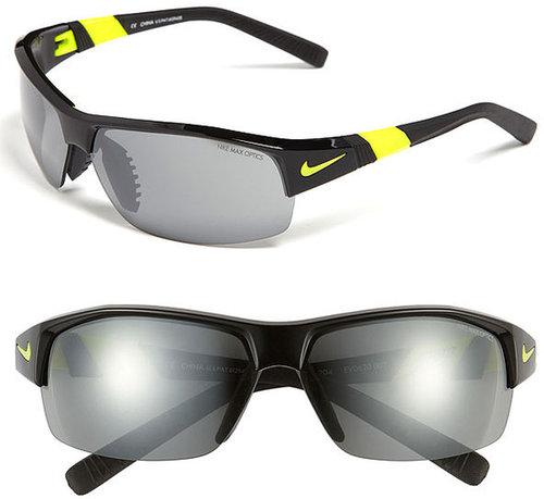 Nike 69mm Semi Rimless Sunglasses