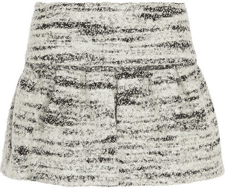 Isabel Marant Itamy bouclé mini skirt