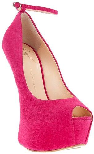 Giuseppe Zanotti Design cut-away heel pump