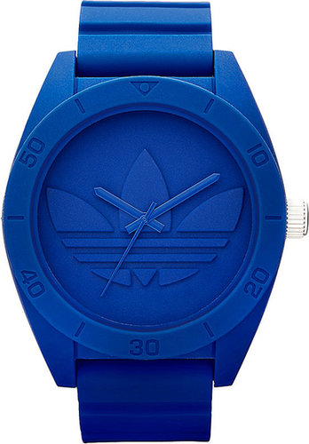 adidas Originals 'Santiago XL' Silicone Strap Watch