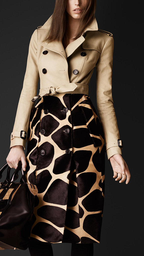 Because the brand keeps brilliantly reinventing the trench, we'll take this half-giraffe option ($6,500) and count it as a new classic.