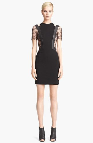 Jason Wu Short Sleeve Jersey Dress