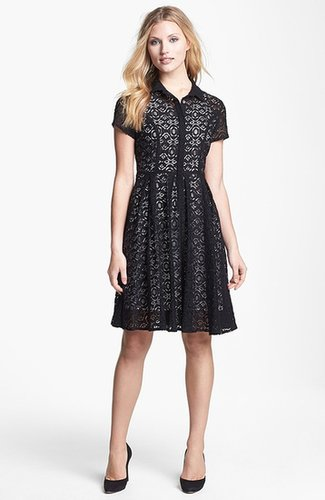 Chaus Lace Shirtdress