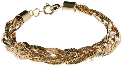 Susan Caplan Exclusive For ASOS Vintage 90s Slinky Plait Bracelet