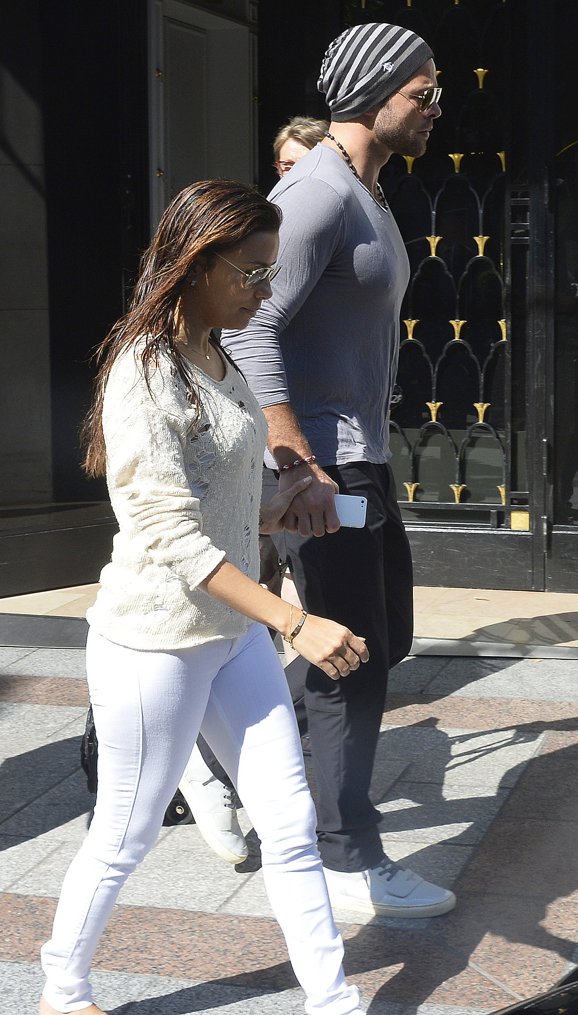 Eva Longoria and Ernesto Arguello are spending time in Paris.