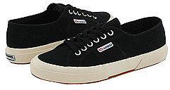 Superga - 2750 COTU Classic (Black) - Footwear
