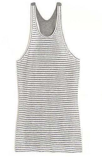 T by Alexander Wang Stripe Knit-back Tank
