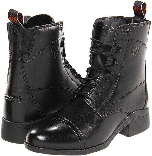 Ariat - Heritage III Paddock Lace (Black) - Footwear