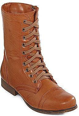 Olsenboye® Tallin Flat Lace-Up Boots