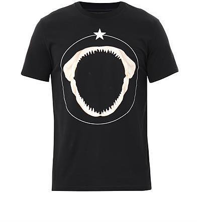 Givenchy Shark tooth-print T-shirt