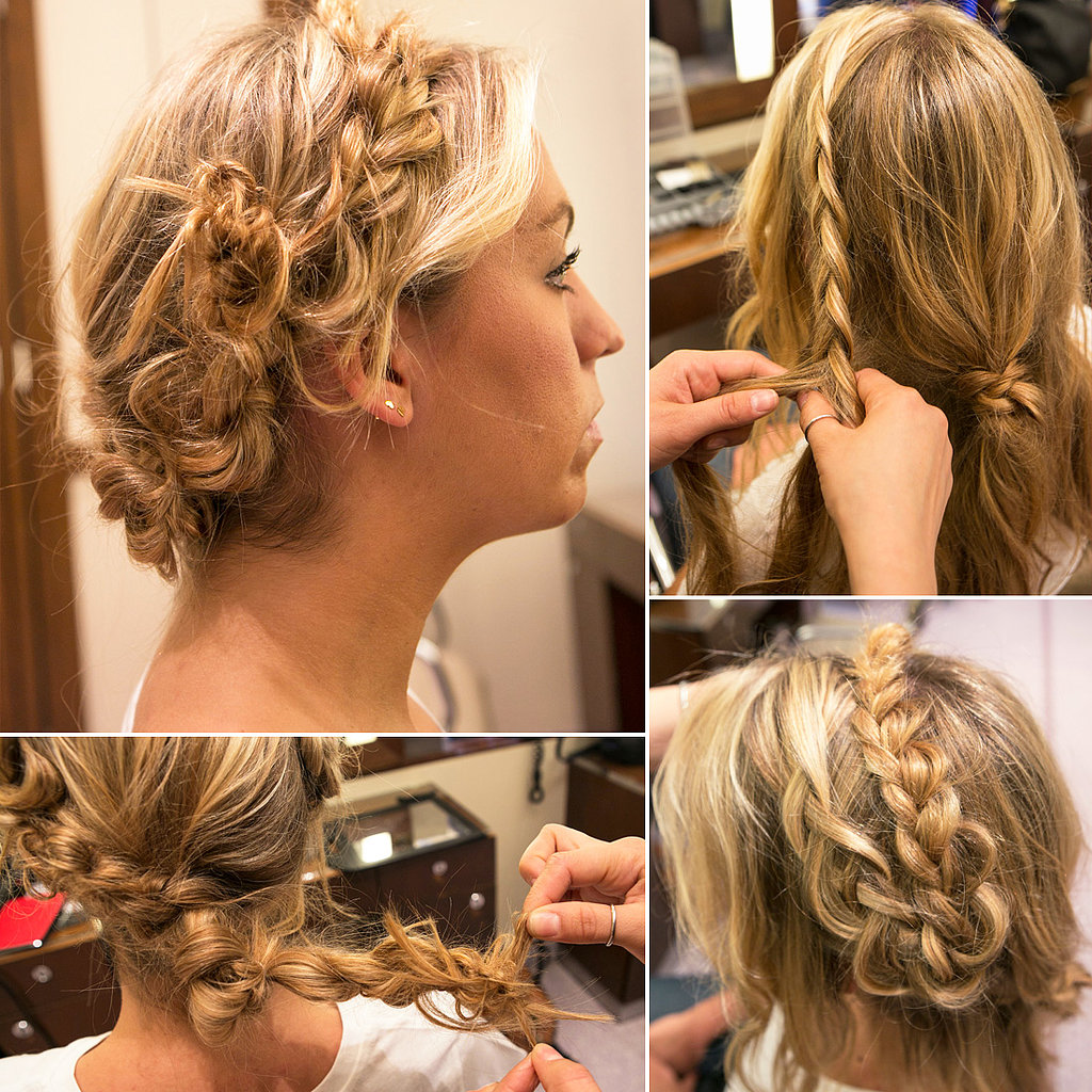 Easy Do It Yourself Updos with Braids