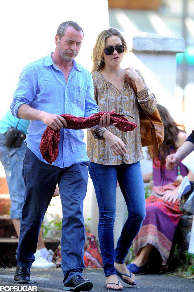 Kate Hudson filmed for Good People in London.