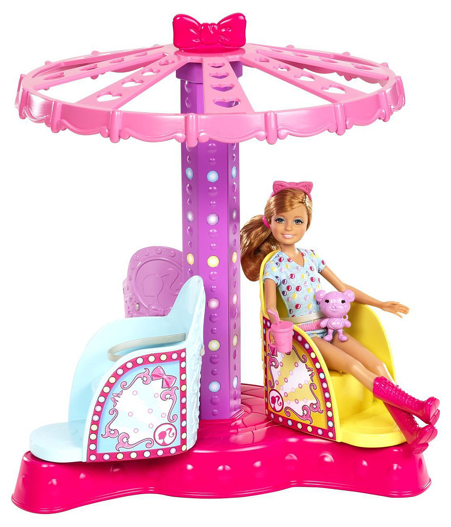 Toys For Sisters : Barbie sisters twirl and spin ride play set step right