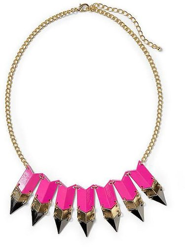 Pim + Larkin Tricolor Arrow Necklace
