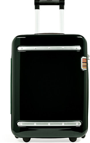 Paul Smith Accessories Dark Green/Silver-Toned Small Suitcase