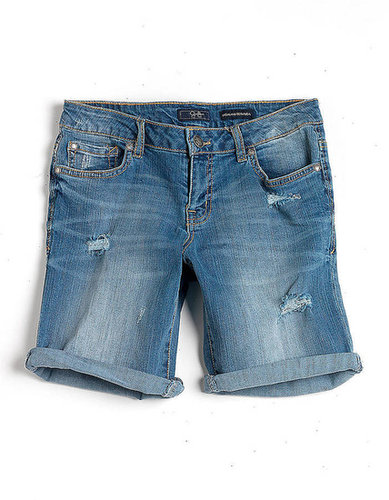 JESSICA SIMPSON Highland Denim Bermuda Shorts