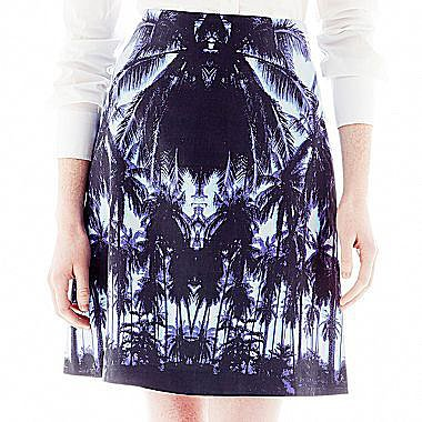 Joe FreshTM Print A-Line Skirt