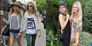 Poppy and Cara Delevingne's Sisterhood of Serious Style