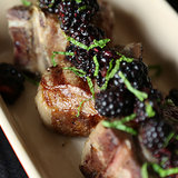 Grilled Lamb Chops With Blackberry Relish