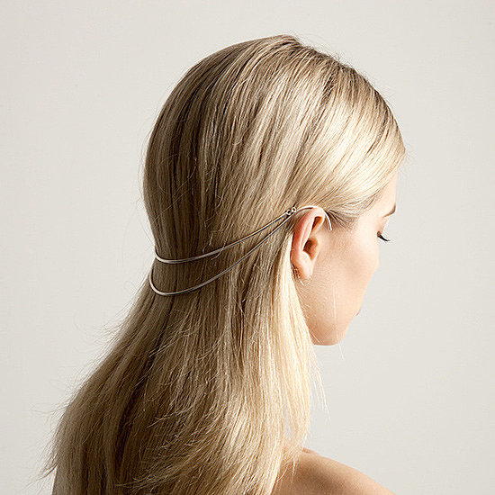 Accessory Trends: Hair Crowns, Halos, Headwear, Metal Brace