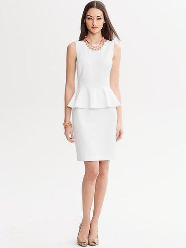 Lola Peplum Dress