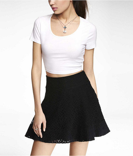 Short Sleeve Cropped Tee
