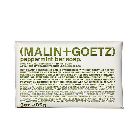 Malin+Goetz Peppermint Bar Soap
